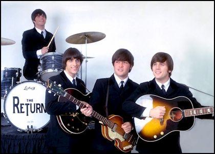 Return : Beatles Tribute Band