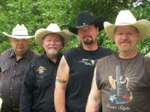 Rob Kent & The Texas T Band : Country Band
